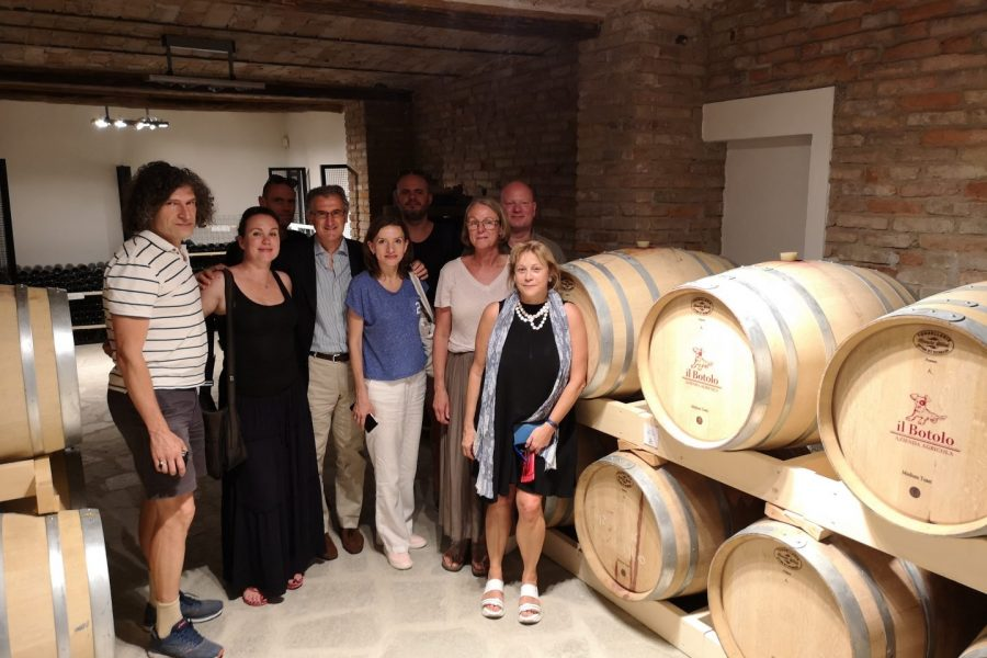 From Northern Europe to Nizza Monferrato: a special press tour through our hills