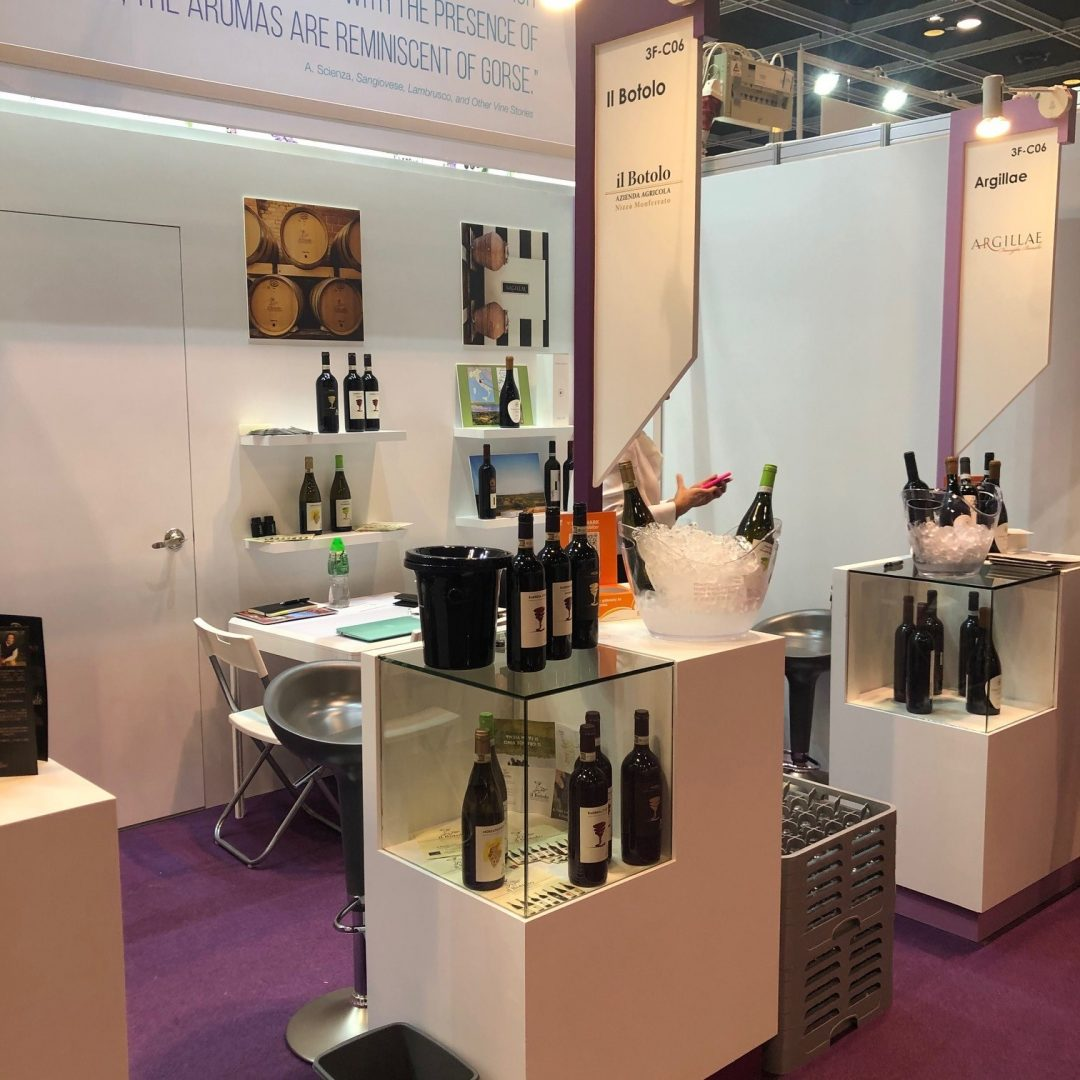 Il Botolo partecipa all'International Wine and Spirits Fair (IWSF) di Hong Kong